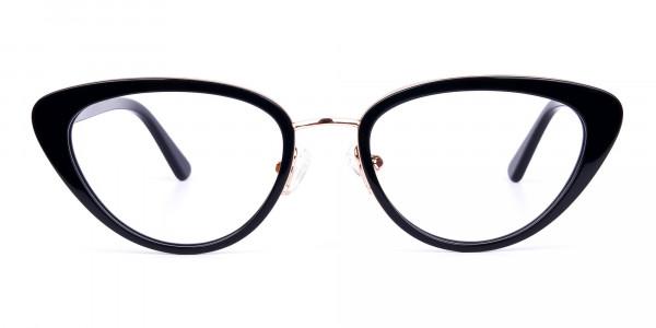 Black-and-Gold-Cat-Eye-Glasses-1