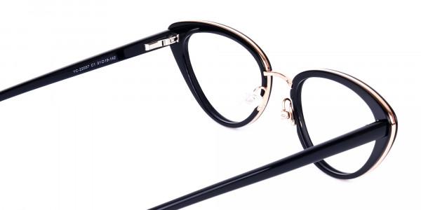 Black-and-Gold-Cat-Eye-Glasses-5