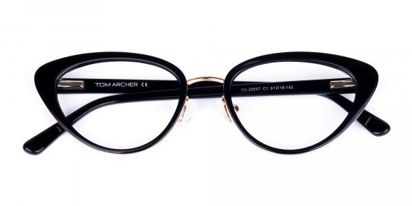 Black-and-Gold-Cat-Eye-Glasses-6