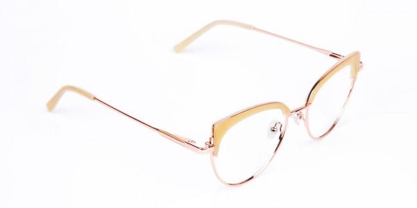 rose gold blue light glasses-2