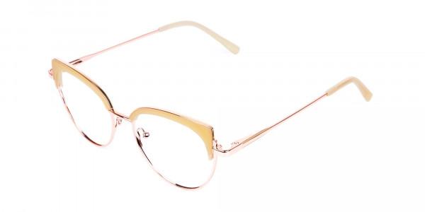 rose gold blue light glasses-3