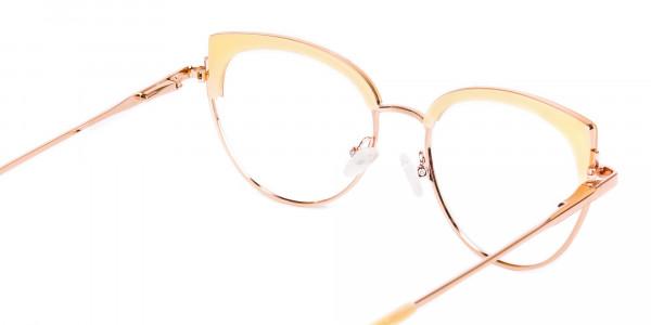 rose gold blue light glasses-5