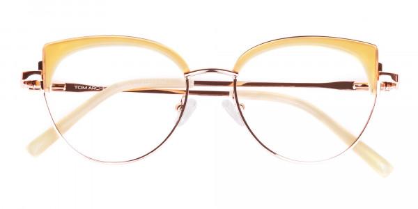 rose gold blue light glasses-6