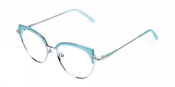 Blue-and-Silver-Cat-Eye-Glasses-Frame-3