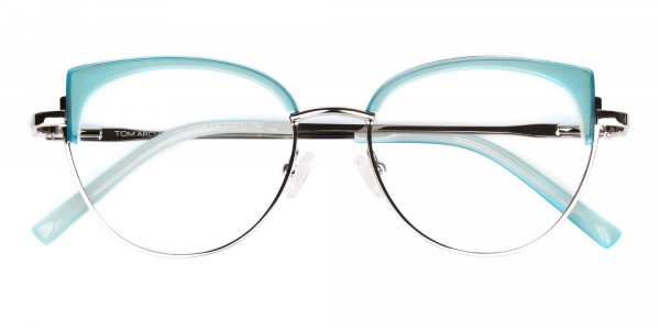 Blue-and-Silver-Cat-Eye-Glasses-Frame-6