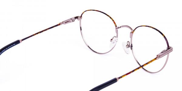 Gunmetal-Round-Tortoise-Shell-Glasses-5