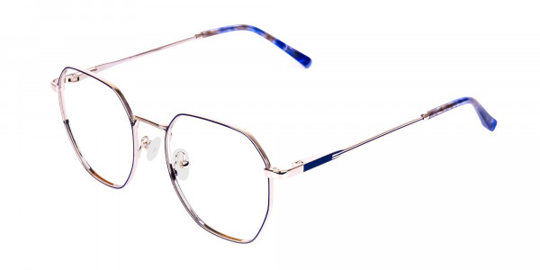 Navy-Blue-and-Silver-Geometric-Glasses-3