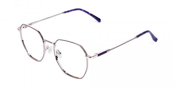 Dark-Violet-and-Silver-Geometric-Glasses-3
