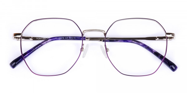 Dark-Violet-and-Silver-Geometric-Glasses-6