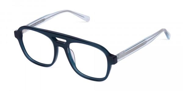 Dark-Green-Aviator-Glasses-3