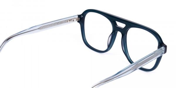 Dark-Green-Aviator-Glasses-5