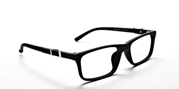 black Wayfarer eyeglasses -1