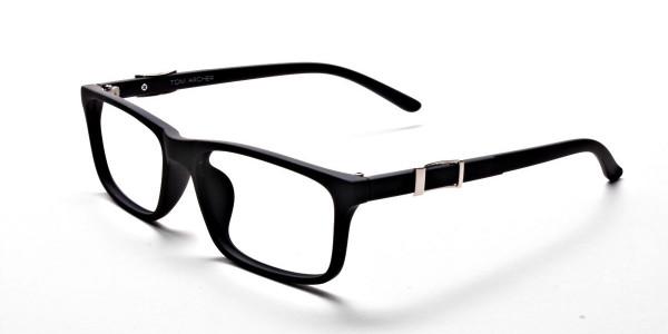 black Wayfarer eyeglasses -2