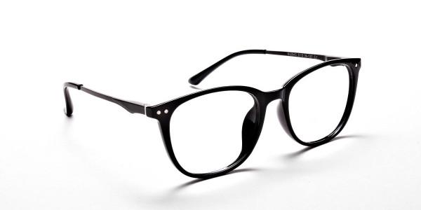 Black Round Glasses, Eyeglasses -2