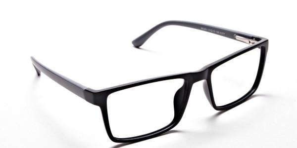 Black & Grey Glasses & Frames -1