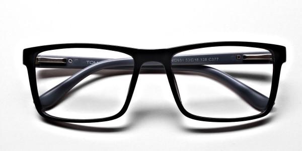 Black & Grey Glasses & Frames -5