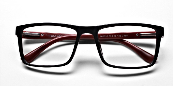 Black & Red Glasses -5