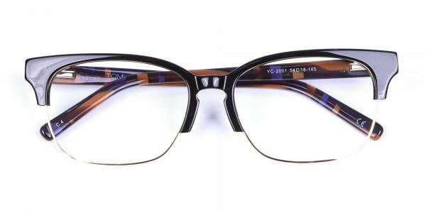 Black and Geometry Purple - 5