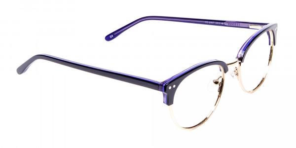 Violet Black Eyeglasses -2