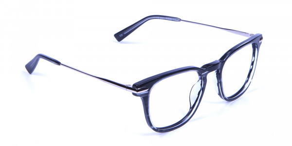 Stripe Glasses in Square Style with New Sensation - 1