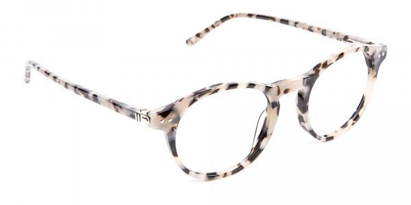 Ivory Tortoiseshell Eyeglasses - 1