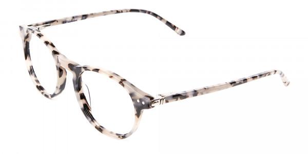 Ivory Tortoiseshell Eyeglasses - 2
