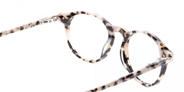 Ivory Tortoiseshell Eyeglasses - 4