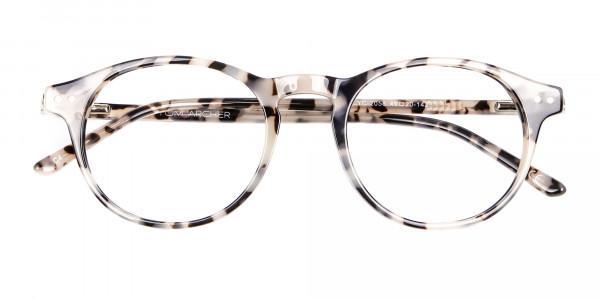 Ivory Tortoiseshell Eyeglasses - 5