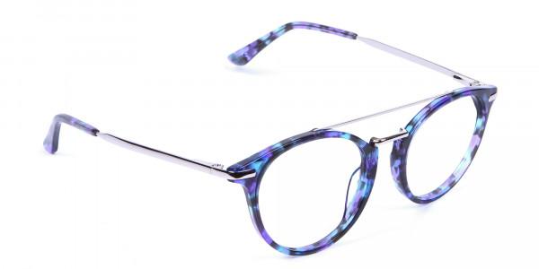 Frame in Violet Marble - 1