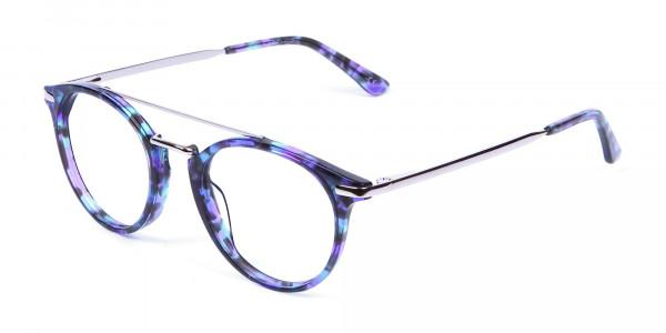 Frame in Violet Marble - 2