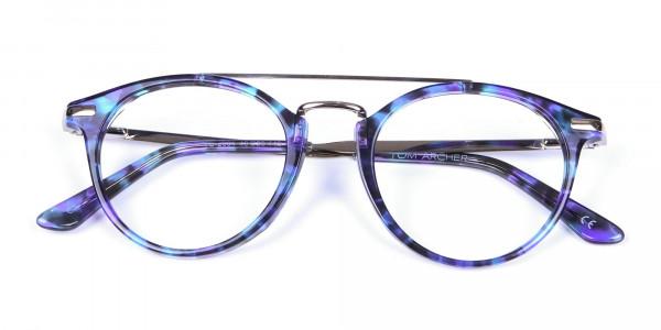 Frame in Violet Marble - 5