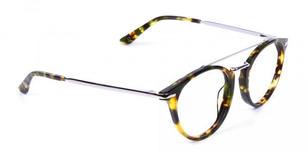 Double Bridge Eyeglasses - 1