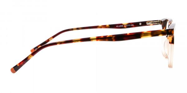 Tortoiseshell Dual-Toned Designer Glasses - 4