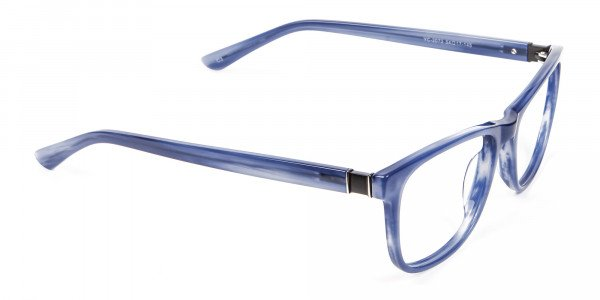 Glossy Blue Frame from In Trend Collection - 1
