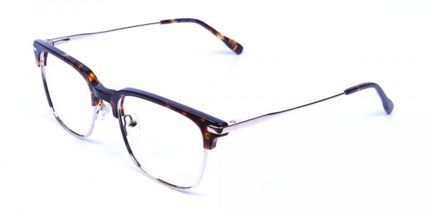 Browline Glasses in Havana and Tortoiseshell -2