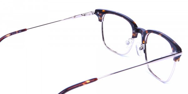 Browline Glasses in Havana and Tortoiseshell -4
