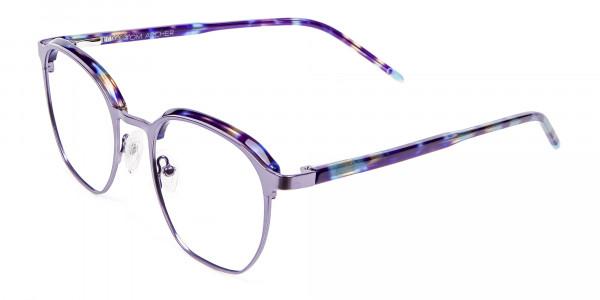 Fashion Round Metal Glasses - 2