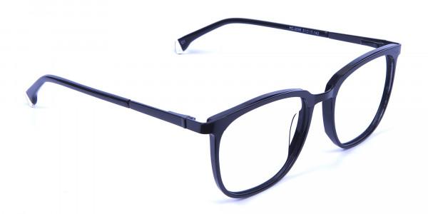 Wayfarer & Square Black Glasses -1