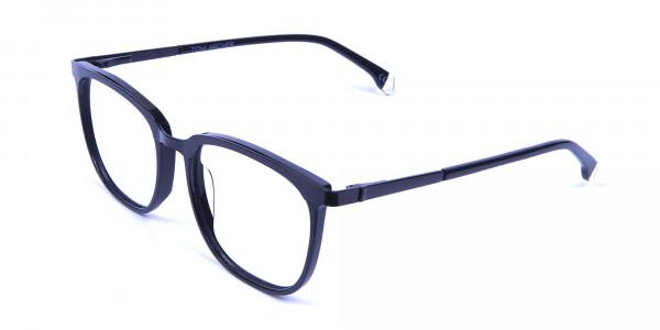 Wayfarer & Square Black Glasses -2