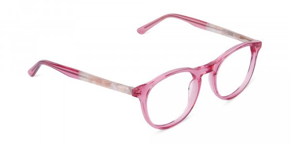 Crystal-and-Pink-Round-Glasses-Frame-2