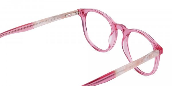 Crystal-and-Pink-Round-Glasses-Frame-5