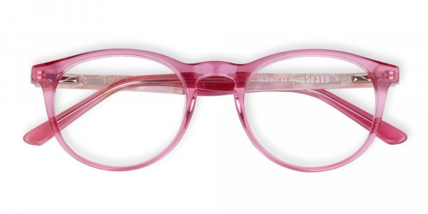 Crystal-and-Pink-Round-Glasses-Frame-6