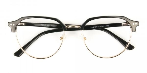 Black-Browline-wayfarer-Glasses-Frames-6