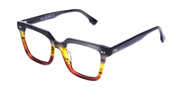 Multi-coloured Metal Glasses Online - 2