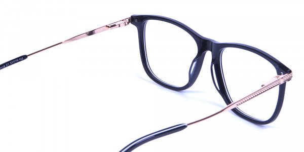 Black & White with Gold Arm Frames -4