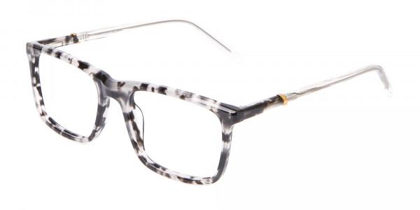 Nerd Chic Rectangular Frame Marble Touch -3