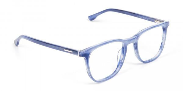 Fresh Blue Designer Glasses - 2