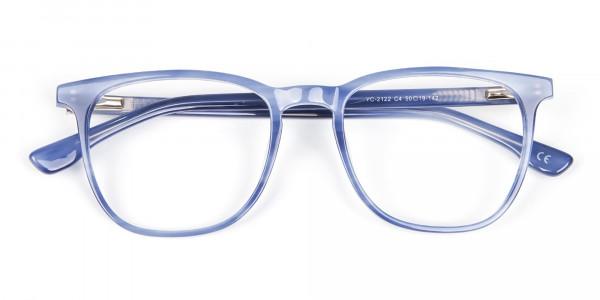 Fresh Blue Designer Glasses - 6