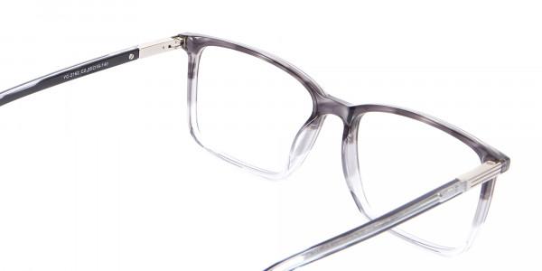 Latest Design Rectangular Frame in Two-Tone Grey - 5