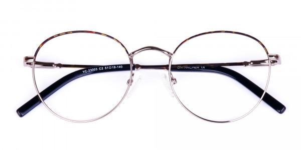Gunmetal-Round-Tortoise-Shell-Glasses-6